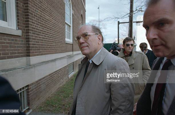 Political extremist Lyndon LaRouche enters United States District Court November 21st to face charges of mail fraud and tax evasion LaRouche who...