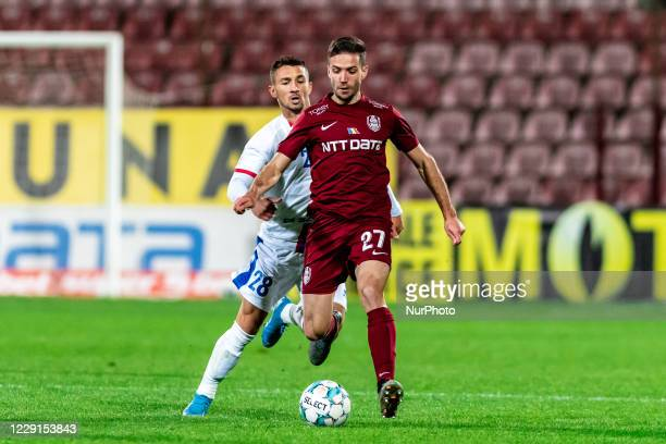 Alexandru Chipciu in action during the 7th game in the Romania League 1 between CFR Cluj and FC Botosani, at Dr.-Constantin-Radulescu-Stadium,...