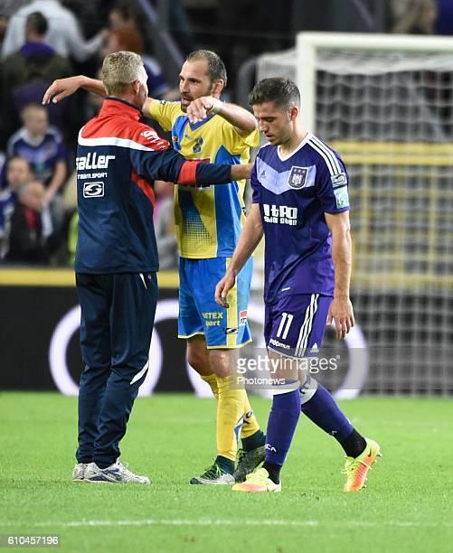 Alexandru Chipciu midfielder of RSC Anderlecht looks dejected pictured during Jupiler Pro League match between RSC Anderlecht and KVC Westerlo on...