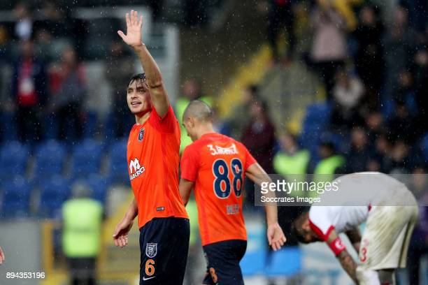 Alexandru Epureanu of Istanbul Basaksehir during the Turkish Super lig match between Istanbul Basaksehir v Antalyaspor at the Fatih Terim Stadium on...