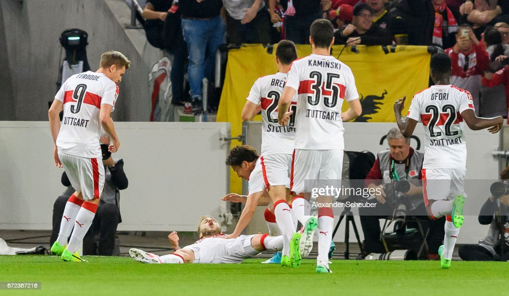 VfB Stuttgart v 1. FC Union Berlin - Second Bundesliga