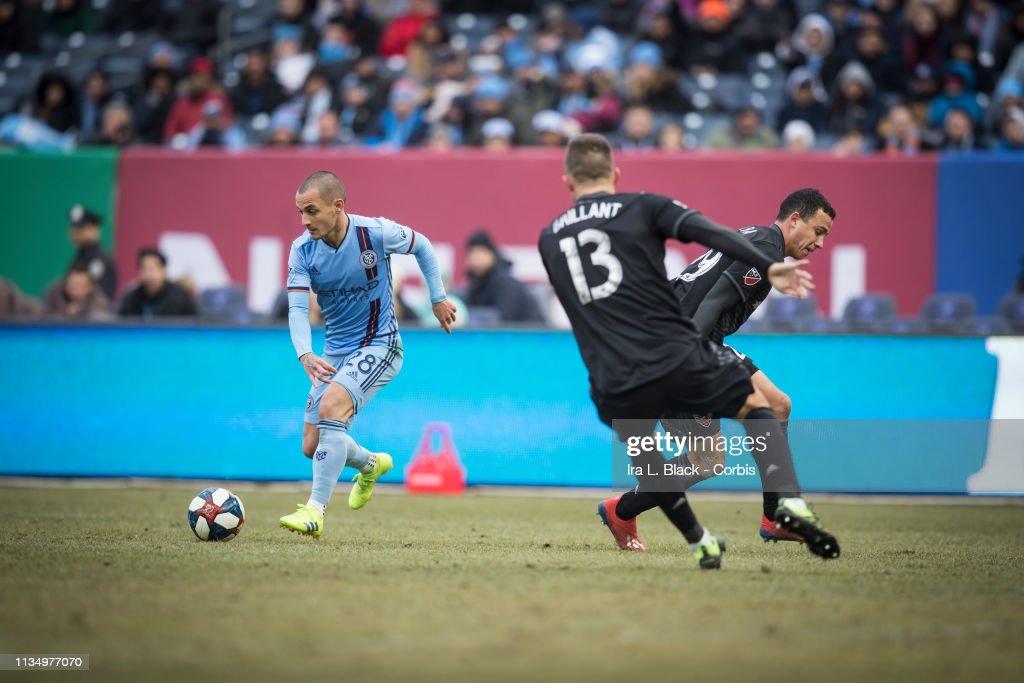 New York City FC v DC United - 2019 MLS Home Opener : News Photo