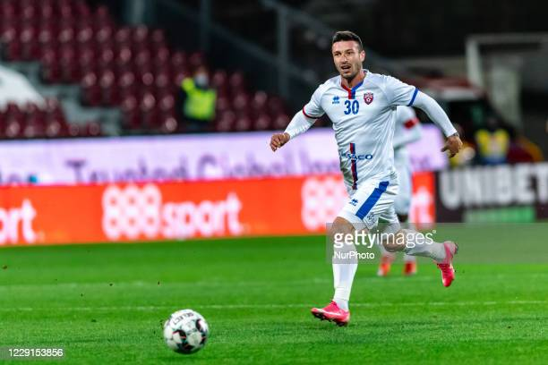 Alexandru Tiganasu in action during the 7th game in the Romania League 1 between CFR Cluj and FC Botosani, at Dr.-Constantin-Radulescu-Stadium,...
