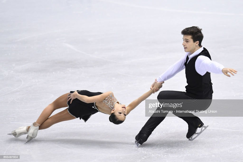 World Junior Figure Skating Championships - Taipei Day 1 : News Photo