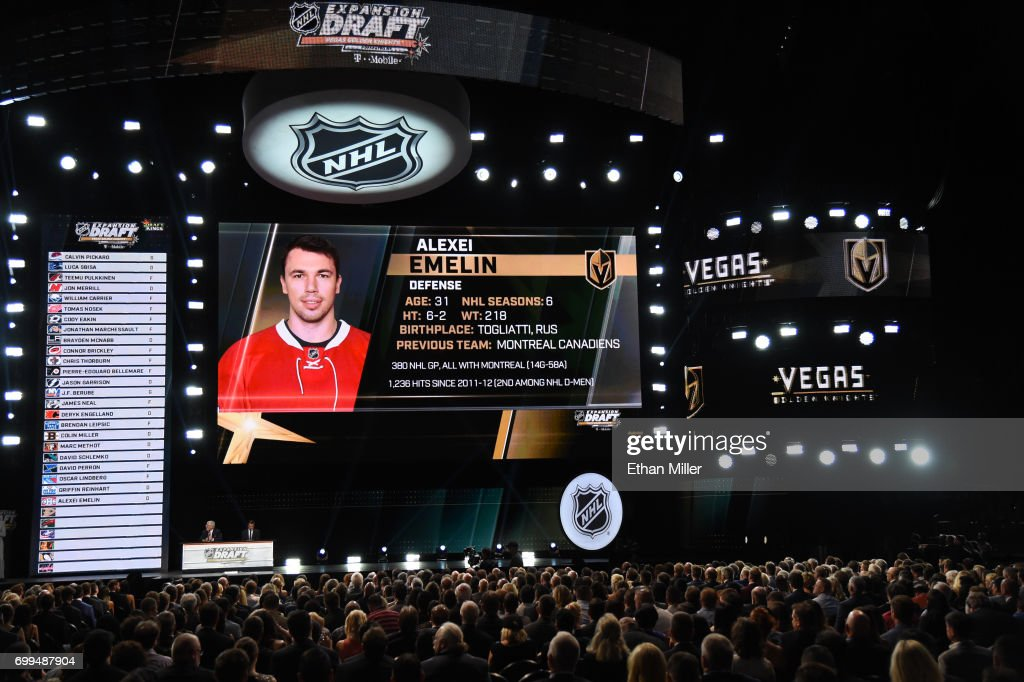 2017 NHL Awards And Expansion Draft : News Photo