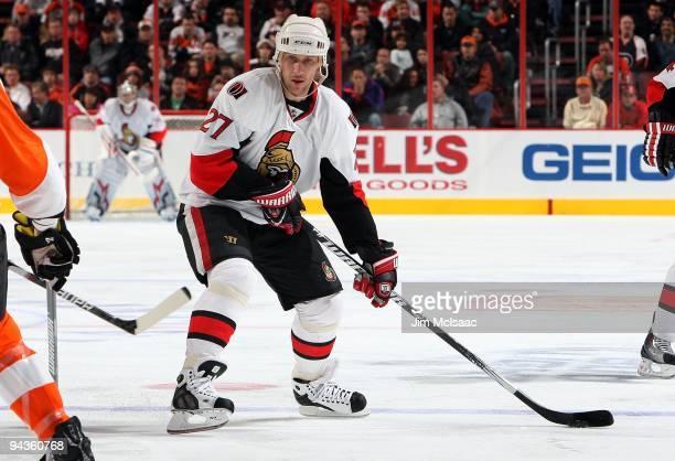 Alexei Kovalev of the Ottawa Senators skates against the Philadelphia Flyers on December 10 2009 at Wachovia Center in Philadelphia Pennsylvania