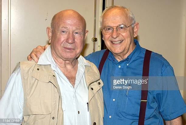 Alexei Leonov and Alan Bean during UACC Astronaut Autograph Show at Meadowlands Crowne Plaza August 13 2005 at Meadowlands Crowne Plaza in Secaucus...