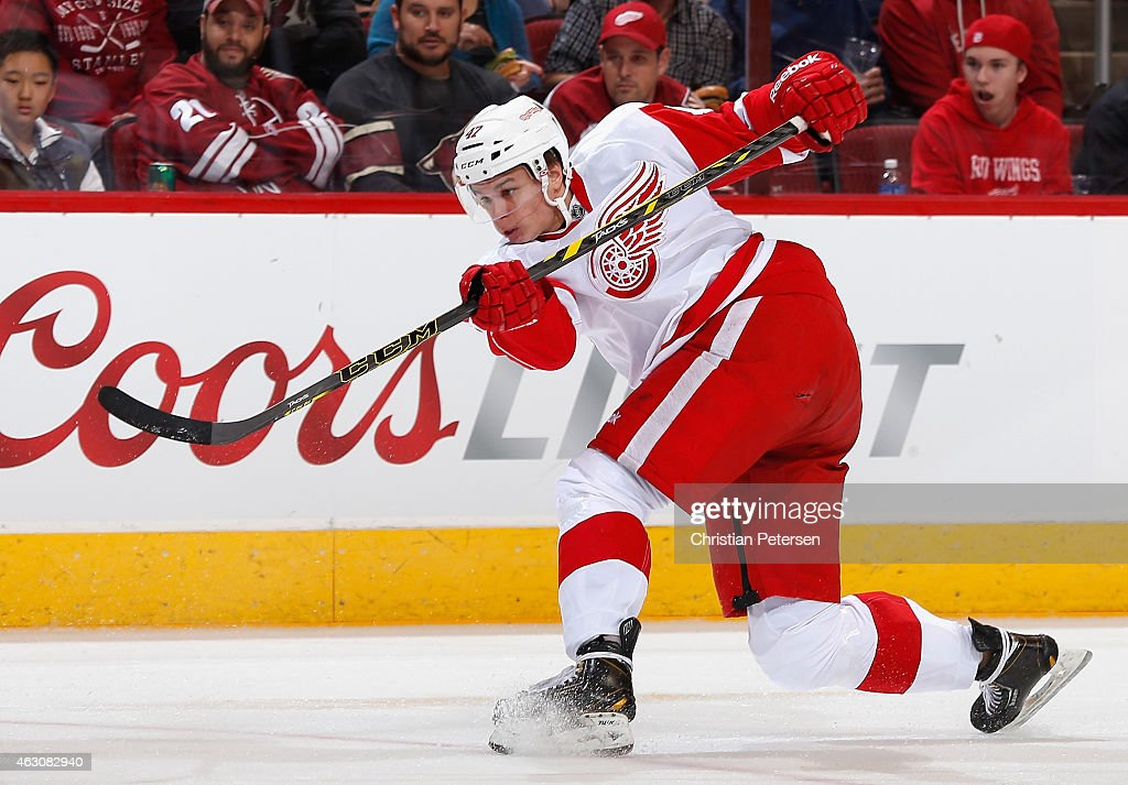 Detroit Red Wings v Arizona Coyotes : News Photo
