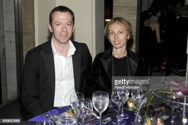 Alexei Ratmansky and Tatiana Ratmansky attend AMERICAN BALLET THEATRE 2009 Fall Gala at Avery Fisher Hall on October 7 2009 in New York City