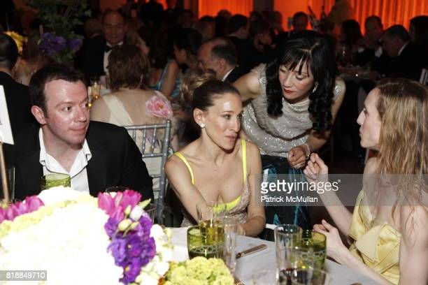 Alexei Ratmansky Sarah Jessica Parker Patricia Shiah and Wendy Whelan attend NEW YORK CITY BALLET Spring Gala 2010 Arrivals at Lincoln Center on...