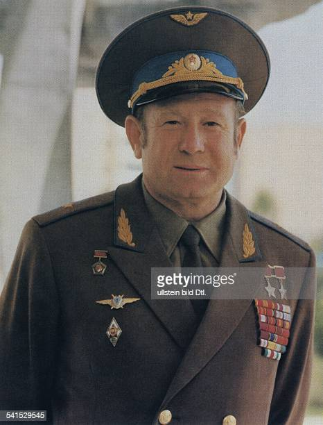 Alexey Arkhipovich Leonov * Soviet cosmonaut USSR portrait date unknown photo by Vassili Malyshev