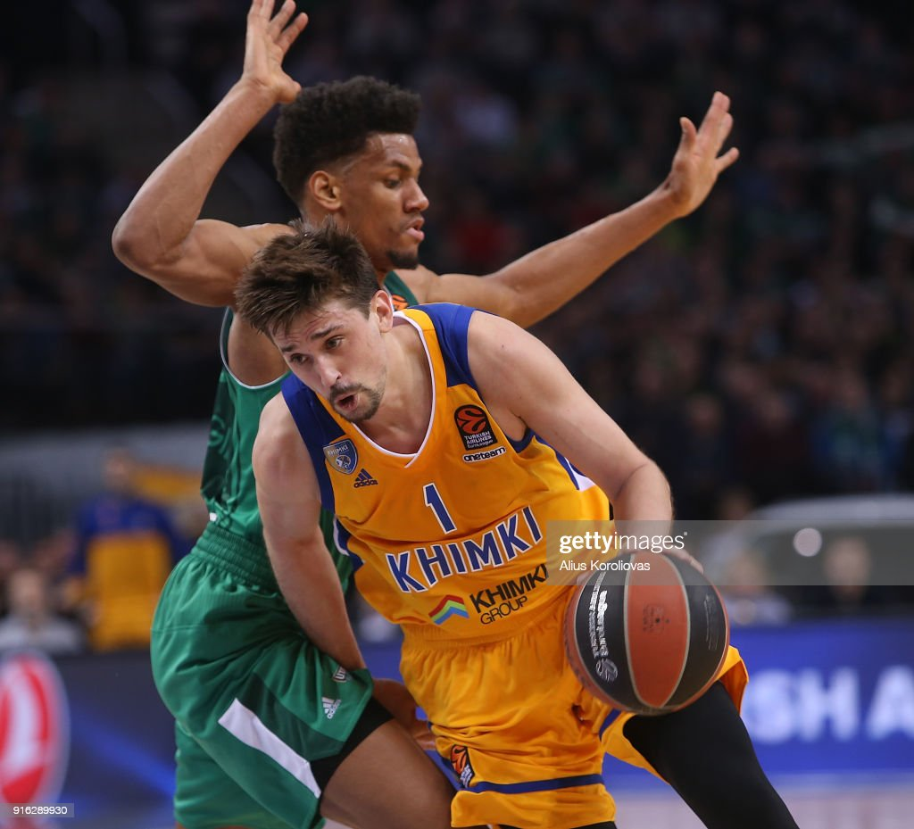Zalgiris Kaunas v Khimki Moscow Region - Turkish Airlines EuroLeague