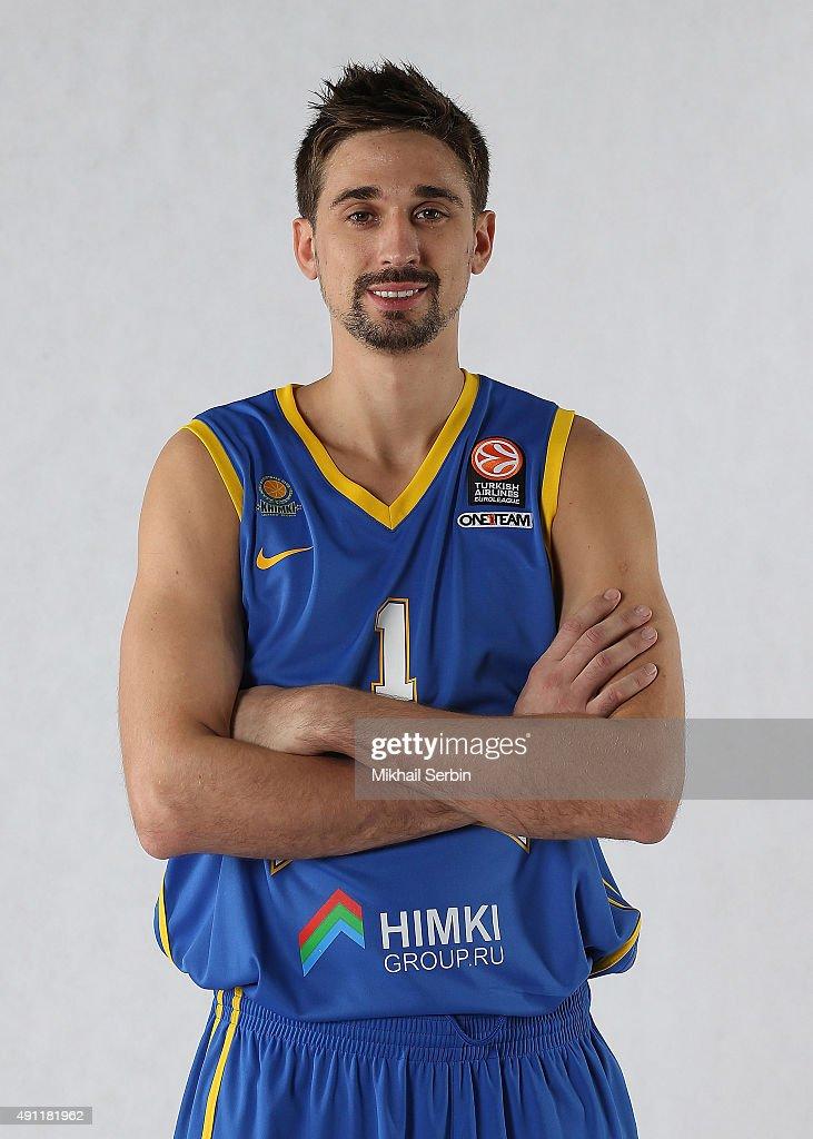 Khmiki Moscow Region 2015/2016 Turkish Airlines Euroleague Basketball Media Day