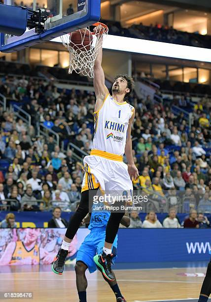 Alexey Shved of BC Khimki during the game between Alba Berlin and BC Khimki Moskau on october 26 2016 in Berlin Germany