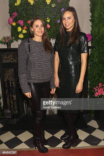 Alexi Ashe and Ariel Ashe attend the Council Of Fashion Designers Of America's 4th annual design series for Vogue eyewear event presented by...