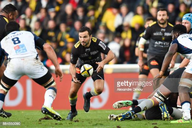 Alexi Bales of La Rochelle during the Top 14 match between La Rochelle and Montpellier on December 2 2017 in La Rochelle France