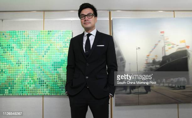 Alexi Fung managing director of Bonhams Auctions poses for a photograph at One Pacific Place in Admiralty 13NOV14