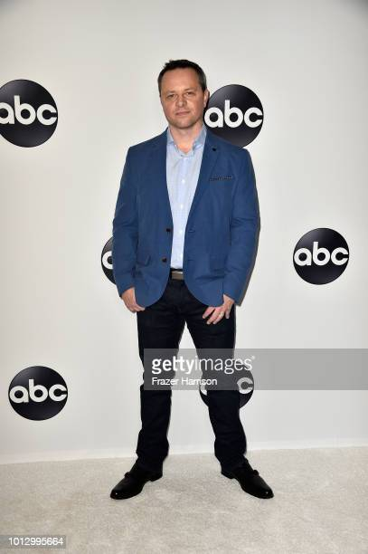 Alexi Hawley attends the Disney ABC Television TCA Summer Press Tour at The Beverly Hilton Hotel on August 7 2018 in Beverly Hills California
