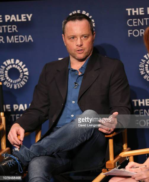 Alexi Hawley from 'The Rookie' appears on stage at The Paley Center of Media's 2018 PaleyFest Fall TV Previews ABC at The Paley Center for Media at...