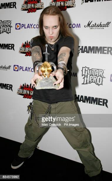 Alexi Laiho from Children of Bodom during the Metal Hammer Golden Golden Gods Awards 2008 at Indig02 in Greenwich London