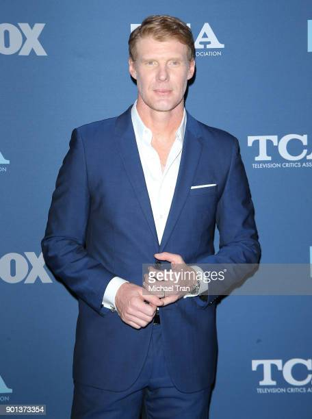 Alexi Lalas arrives at the 2018 Winter TCA Tour FOX AllStar Party held at The Langham Huntington on January 4 2018 in Pasadena California