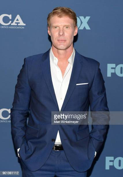 Alexi Lalas attends the FOX AllStar Party during the 2018 Winter TCA Tour at The Langham Huntington Pasadena on January 4 2018 in Pasadena California