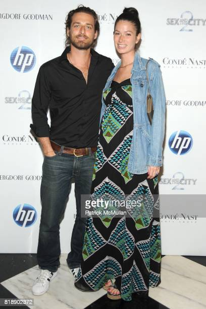Alexi Lubomirski and Giada Lubomirski attend HP and COND… NAST Screening of 'Sex the City 2' at Paris Theater on May 25 2010 in New York City