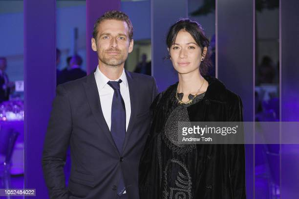 Alexi Lubomirski and Giada Lubomirski attend the Hugo Boss Prize 2018 Artists Dinner at the Guggenheim Museum on October 18 2018 in New York City