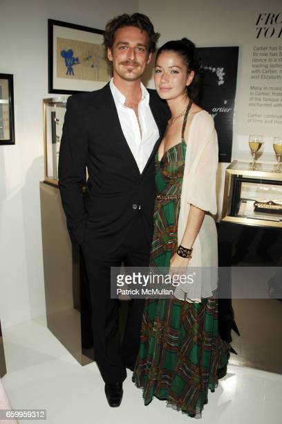 Alexi Lubomirski and Giada Torri attend CARTIER HARPERS BAZAAR celebrate Cartier's 100th Anniversary in America Hosted By Glenda Bailey and Frederic...