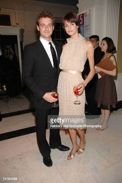 Alexi Lubomirski and Jacquetta Wheeler at the The Museum of The City of New York in New York City New York