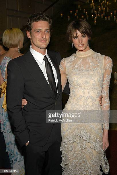 Alexi Lubomirski and Jacquetta Wheeler attend The Metropolitan Museum of Art Costume Institute Spring 2006 Benefit Gala celebrating the exhibition...