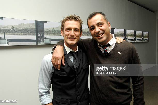 Alexi Lubomirski and Mazdack Rassi attend A MILK GALLERY PROJECT Presents TRANSIT by ALEXI LUBOMIRSKI at Milk Gallery on October 21 2008 in New York...