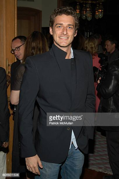 Alexi Lubomirski attends MARNI Dinner for Consuelo Castiglioni at The Home of Jacqueline Schnabel on April 29 2006 in New York City