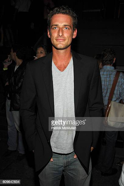 Alexi Lubomirski attends PRADA New York Epicenter Party with Special Performance by THE HOURS at PRADA Soho on September 7 2007 in New York City