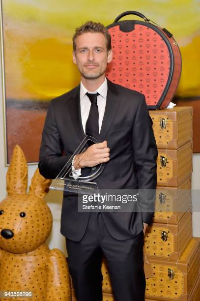 Alexi Lubomirski attends The Daily Front Row's 4th Annual Fashion Los Angeles Awards at Beverly Hills Hotel on April 8 2018 in Beverly Hills...