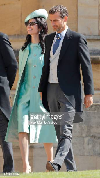 Alexi Lubomirski attends the wedding of Prince Harry to Ms Meghan Markle at St George's Chapel Windsor Castle on May 19 2018 in Windsor England...