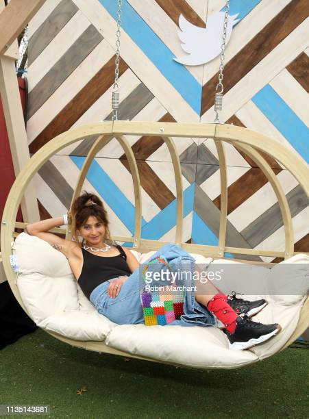 Alexi Pappas attends @AM2DM Live at #TwitterHouse during SXSW on March 11 2019 in Austin Texas