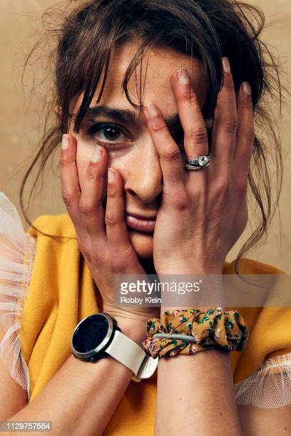 Alexi Pappas of the film 'Olympic Dreams' poses for a portrait at the 2019 SXSW Film Festival Portrait Studio on March 10 2019 in Austin Texas