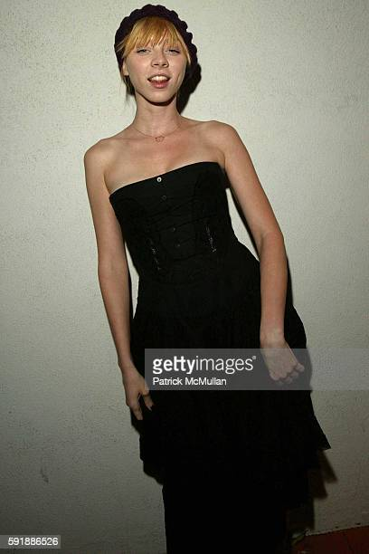 Alexi Wasser attends Opening Reception for 'WHIRLIGIG' by photographer Bruce Weber at Fahey/Klein Gallery on October 27 2005 in Los Angeles CA