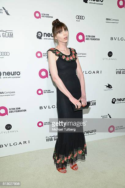 Alexi Wasser attends the 24th Annual Elton John AIDS Foundation's Oscar Viewing Party on February 28 2016 in West Hollywood California