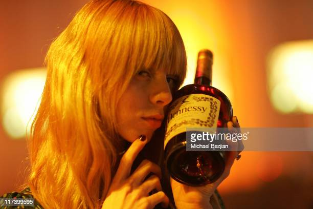 Alexi Wasser during Hennessy Artistry 'Discover the Global Art of Mixing' in Los Angeles CA United States
