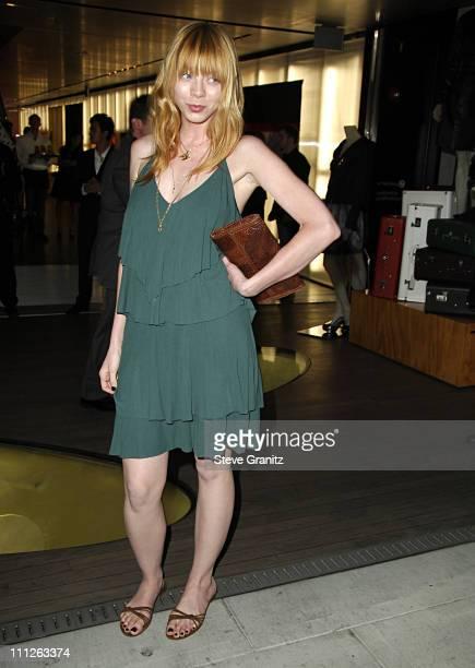 Alexi Wasser during Prada Celebrates the Los Angeles Opening of 'Waist Down Skirts By Miuccia Prada' at Prada in Hollywood California United States