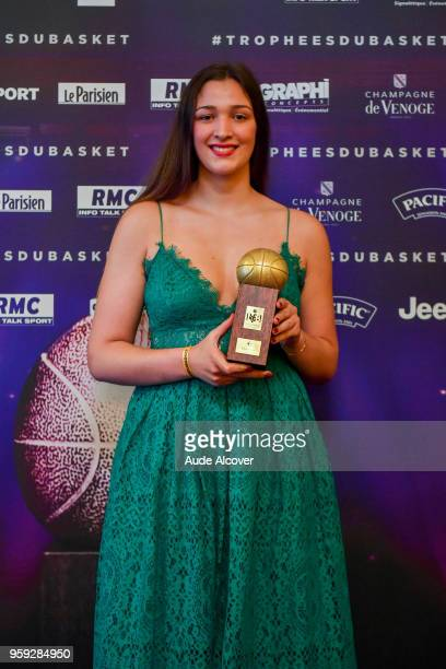 Alexia Chartereau during the Trophy Award LNB Basketball at Salle Gaveau on May 16 2018 in Paris France