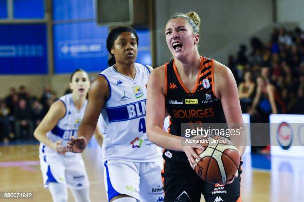 Alexia Chartereau of Bourges during the Women's League match between Montpellier Lattes and Bourges on November 26 2017 in Montpellier France
