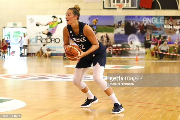 Alexia Chartereau of France during the International Women's match between France and Italy on August 21 2018 in Anglet France