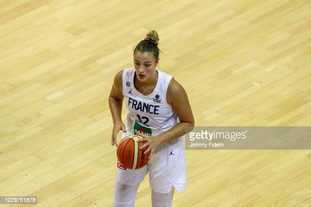 Alexia Chartereau of France during the Women's International Friendly match between France and Australia at Salle Pierre Coubertin on September 8...