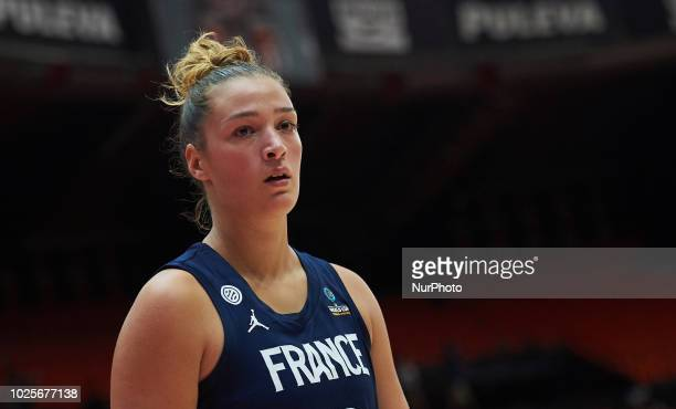 Alexia Chartereau of France National team team during the international friendly basket match between France and Latvia women's at Pabellon Fuente de...