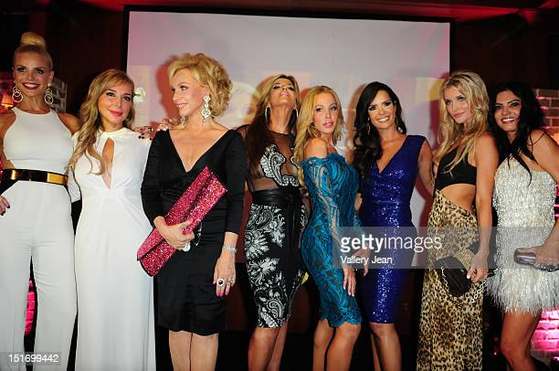 Alexia Echevarria Marysol Patton Lea Black Ana Quincoces Lisa Hochstein Karent Sierra Joanna Krupa and Adriana de Moura attend The Real Housewives of...