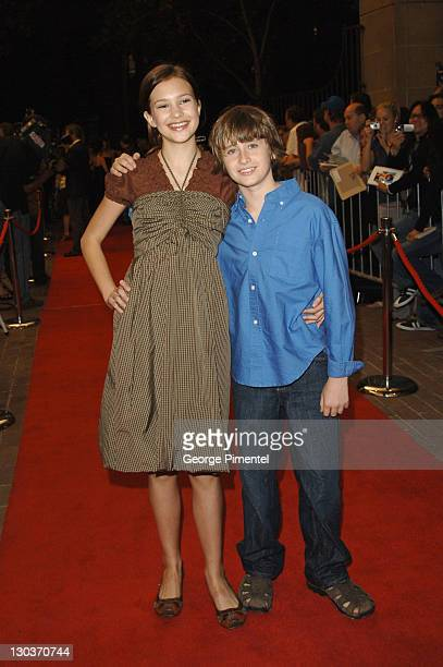 Alexia Fast and K'Sun Ray during 31st Annual Toronto International Film Festival 'Fido' Premiere at Roy Thompson Hall in Toronto Ontario Canada