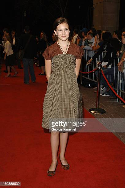 Alexia Fast during 31st Annual Toronto International Film Festival Fido Premiere at Roy Thompson Hall in Toronto Ontario Canada